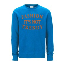 Sweat Trendy bleu