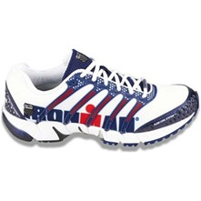 Men footwear: Blue/White K-Onas Trainers
