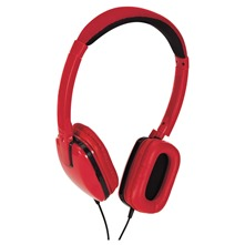 Casque Hi-Fi rouge