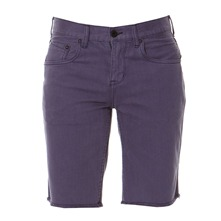Short Devamp chino slim bleu