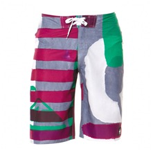 Boardshort No Critical gris et violet