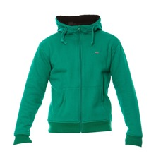 Sweat zippé à capuche Best Waven vert