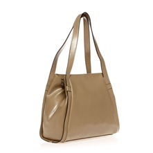 Sac en cuir taupe