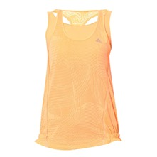Débardeur orange fluo