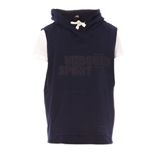 Sweat  capuche bleu marine