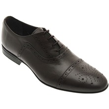 Men footwear: Brown Leather Formal Brogues