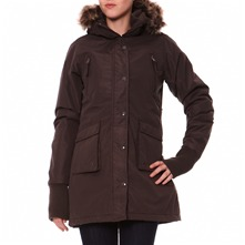 Parka marron