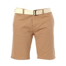 Short avec ceinture Santos beige