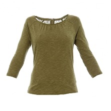 T-shirt flamm olive
