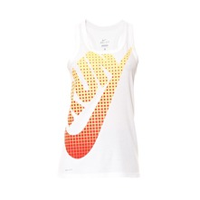 Dbardeur NIKE RUN SWOOSH TANK blanc