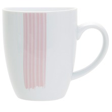 Lot de 6 mugs Tendresse Rose