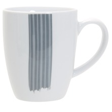 Lot de 6 mugs  Tendresse Gris