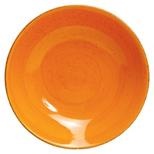 Lot 6 assiettes creuse Fusilli Orange Orange