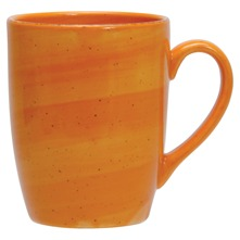 Lot de 6 mugs Fusilli Orange Orange