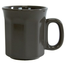Lot de 6 mugs à côtes Terroir Country Gris