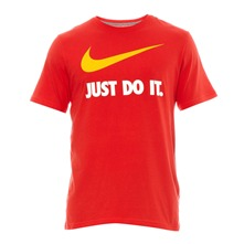 T-shirt NEW JDI SWOOSH TEE rouge
