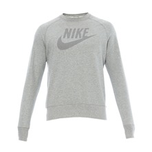 Sweat LMTLES FT WASHED CREW DK GREY HEATHER/MEDIUM GREY