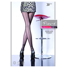 Collant fantaisie noir