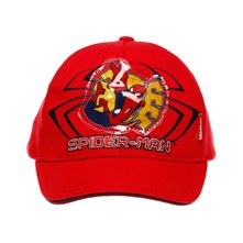 Casquette Spiderman rouge