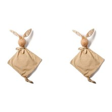 Lots de doudous Lapin Zen beige