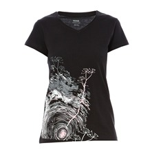 T-shirt Stormy noir