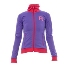 Sweat Track Top violet et rose