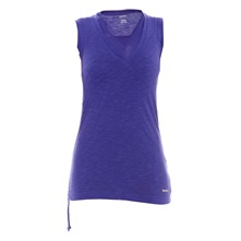 Double dbardeur ET Sleeveless violet