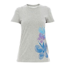 T-shirt Toning Tee gris chiné