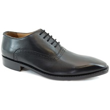 Men footwear: Black Clarke Oxford Leather Formal Shoes