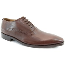 Men footwear: Brown Clarke Oxford Leather Formal Shoes
