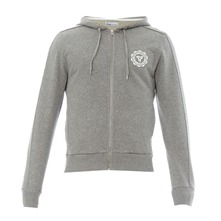 Sweat à capuche Clubhouse gris