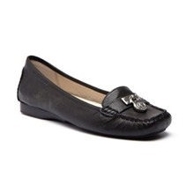 Mocassins Loafer en cuir noir