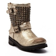 Bikers Titan en cuir or