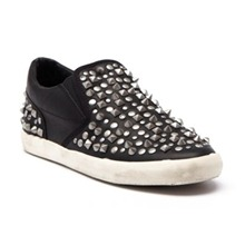 Baskets Soul en cuir noir