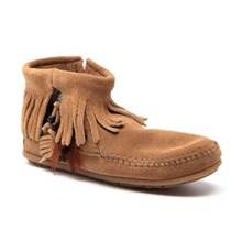 Boots 52 en cuir camel