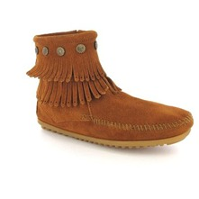Boots 69 en cuir camel