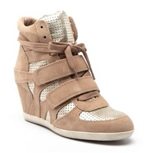 Sneakers Bea en cuir camel