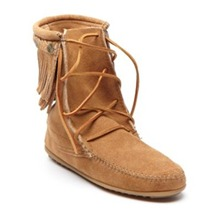 Boots 62 en cuir camel