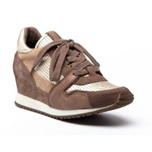 Tennis Dean en cuir marron