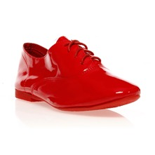 Derbies vernies rouge