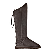Bottes Dita X-Tall en cuir brun