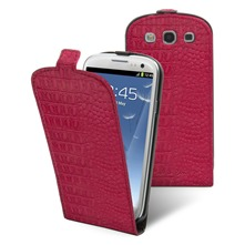 Etui Clapet + film protecteur d'cran Samsung i9300 Galaxy S III Fushia