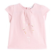 T-shirt Bise rose