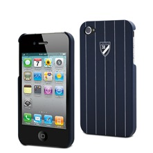 Coque rigide iPhone 4/4Sbleu marine