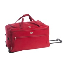 Sac de voyage  roulettes Naples rouge
