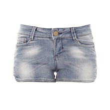 Short en jean bleu used
