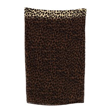 Snood léopard beige
