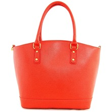 Women bags: Orange Leather Handbag