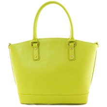 Women bags: Green Leather Handbag