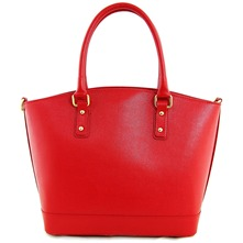 Women bags: Red Leather Handbag
